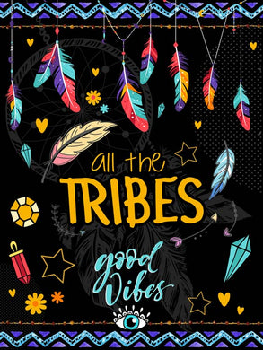 Poster Penas Good Vibes All The Tribes XX09863CP