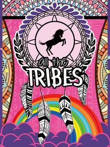 Poster Penas Unicórnio All The Tribes XX10517CP