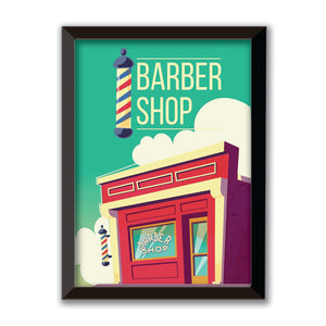 Poster Barbeiro Barber Shop #xx10898