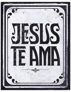 Decor Home - Placa - Jesus Te Ama LTO-DHPM-061