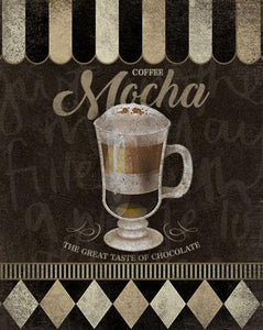 Decor Home - Placa - Coffee Mocha Litoarte lto-dhpm-179