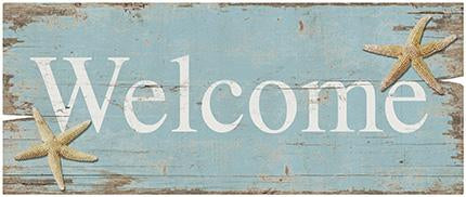 Decor Home - Placa Welcome Praia Litoarte lto-dhpm2-080