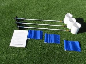 DELUXE PUTTING GREEN ACCESSORY KIT