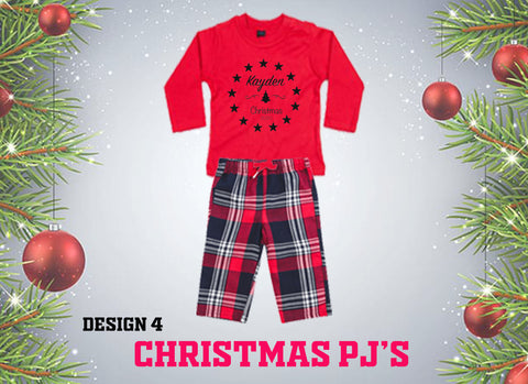 Christmas PJ's -  Christmas 2020 ... Baby Sizes