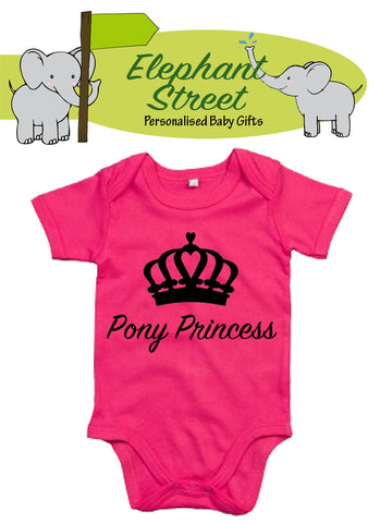 Pony Princess... Baby Vest