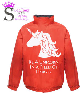 Be A Unicorn .... Adults Blouson Coat
