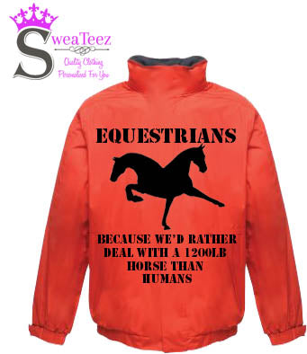 Equestrians   .... Adults Blouson Coat