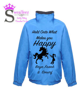 Hold on to What Makes You Happy .... Adults Blouson Coat