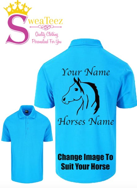 Adults Personalised Polo Shirts