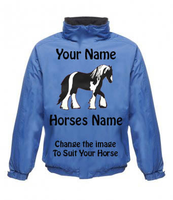 Personalised  ... Adults Blouson Coat