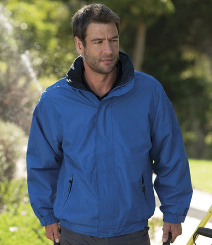 Adults Blouson Waterproof, Fleece Lined Jacket - PLAIN (no print)