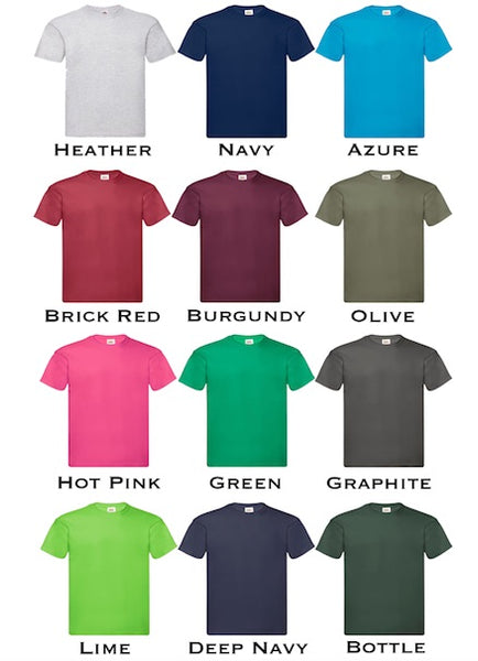 Personalised Unisex Round Neck T-Shirt