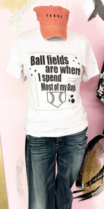 Ball Fields Black