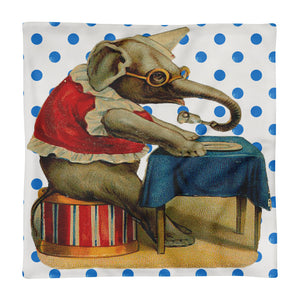 Dinner at the Circus Pillow Cover