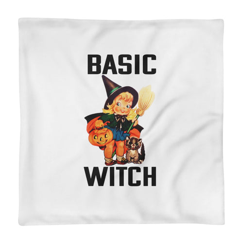 Basic Witch Pillow Cover