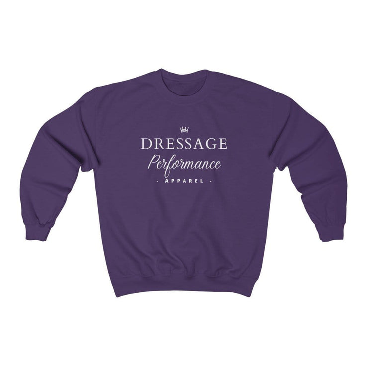 Printify Sweatshirt Purple / S Dressage Performance Apparel Soft Sweater