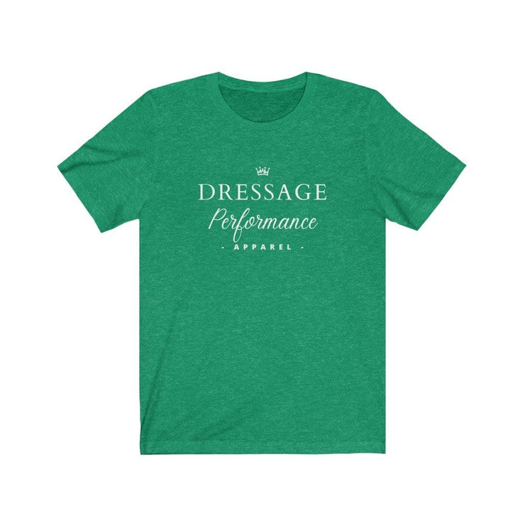 Dressage Performance T-Shirt Heather Kelly / S Dressage Performance Apparel T-Shirt