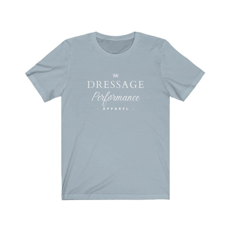 Dressage Performance T-Shirt Light Blue / S Dressage Performance Apparel T-Shirt