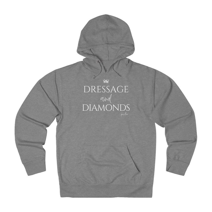 Pixi Lee Hoodie Graphite Heather / L Dressage & Diamonds Lightweight Premium Hoodie