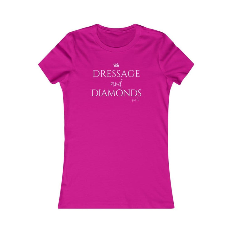 Pixi Lee T-Shirt Berry / S Dressage & Diamonds Ladies Favorite Tee