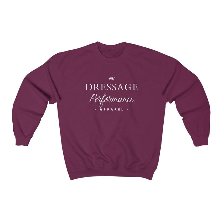 Printify Sweatshirt Maroon / S Dressage Performance Apparel Soft Sweater