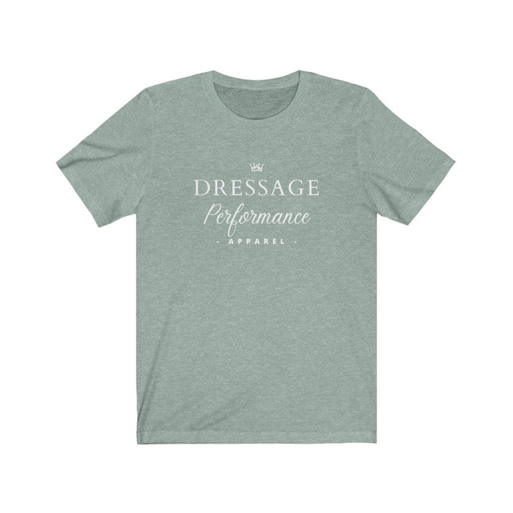 Dressage Performance T-Shirt Heather Dusty Blue / S Dressage Performance Apparel T-Shirt