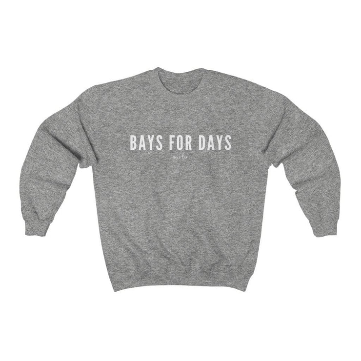 Pixi Lee Sweatshirt Sport Grey / S Bays for Days Sweatshirt