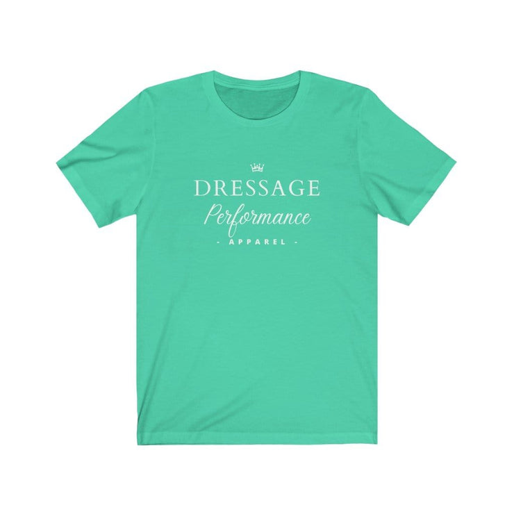 Dressage Performance T-Shirt Heather Mint / S Dressage Performance Apparel T-Shirt