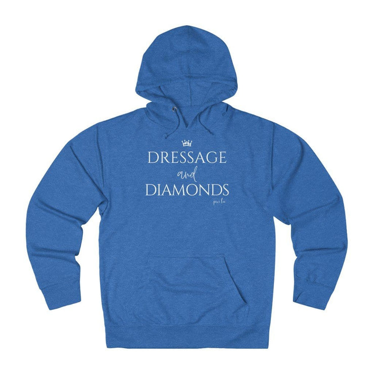 Printify Hoodie Royal Heather / XS Dressage & Diamonds Lightweight Premium Hoodie