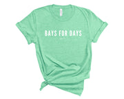 Pixi Lee T-Shirt Heather Mint / S Bays For Days T-Shirt