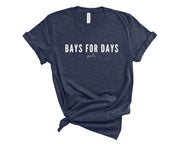 Pixi Lee T-Shirt Heather Navy / S Bays For Days T-Shirt