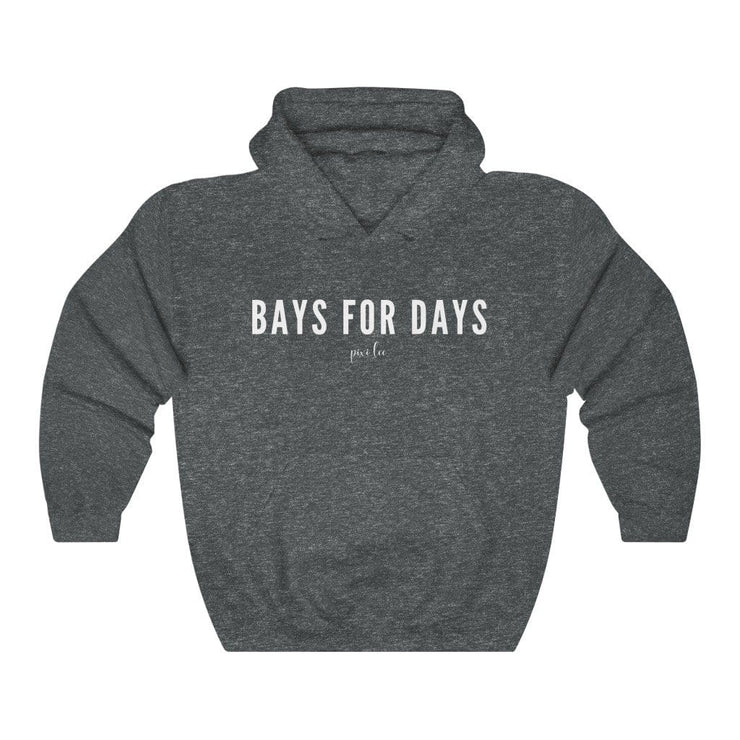 Printify Hoodie Dark Heather / S Bays for Days Hoodie
