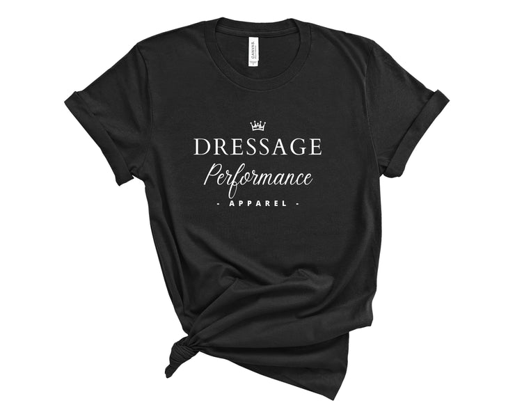 Printify T-Shirt Black / L Dressage Performance Apparel T-Shirt