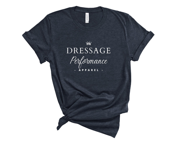 Dressage Performance T-Shirt Heather Navy / S Dressage Performance Apparel T-Shirt