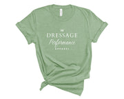 Dressage Performance T-Shirt Mint / S Dressage Performance Apparel T-Shirt