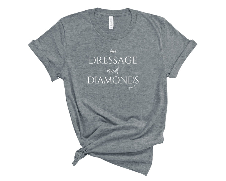 Pixi Lee T-Shirt Deep Heather / S Dressage & Diamonds Oversized Tee