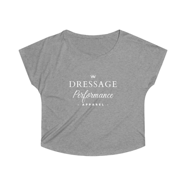 Printify T-Shirt S / Tri-Blend Premium Heather Dressage Performance Apparel Oversized Tri-Blend Tee