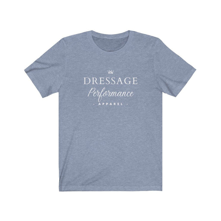 Dressage Performance T-Shirt Heather Blue / S Dressage Performance Apparel T-Shirt