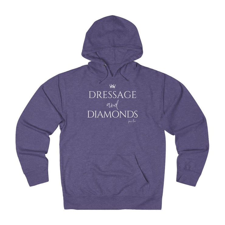 Pixi Lee Hoodie Purple Heather / XS Dressage & Diamonds Lightweight Premium Hoodie