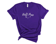 Pixi Lee T-Shirt Half Pass Oversized Tee