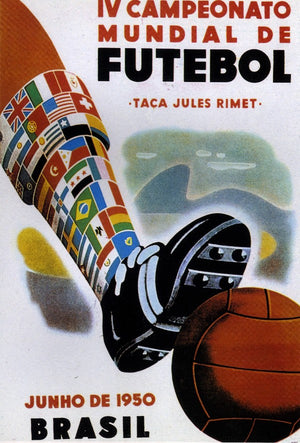 World CUP 1950 poster