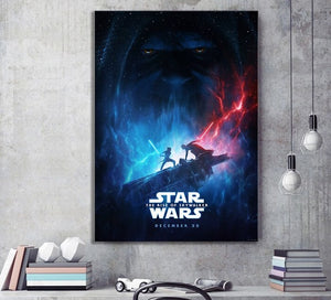 Poster Star Wars épisode IX, the rise of Skywalker