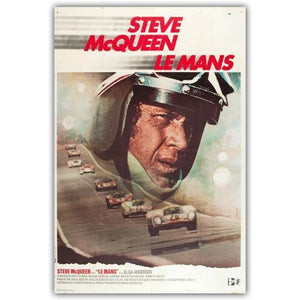 Affiche steve mc queen le mans