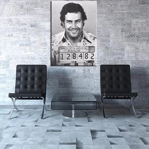 Poster arrestation Pablo Escobar