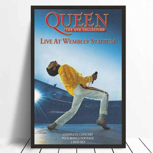Affiche concert Queen Live at Wembley