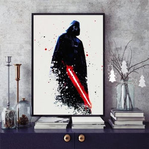 Toile Dark Vador Star Wars