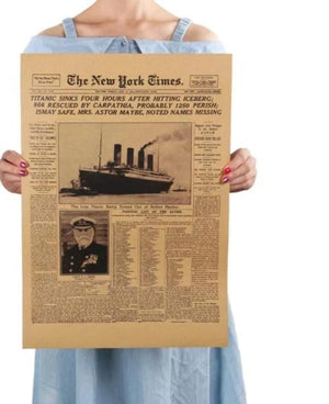The New York times Titanic