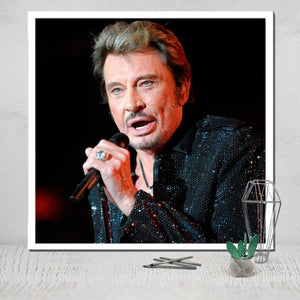Johnny Hallyday, le poster