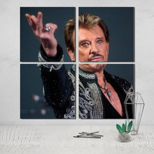 poster johnny halliday