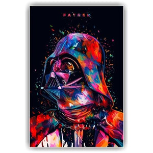 Toile Star Wars Darth Vader